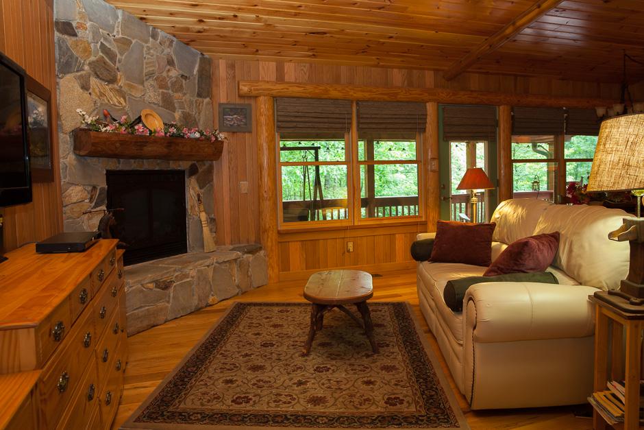 Heavenly Hideaway Living Room