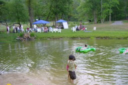 Entertain your guests at Peterson Pond.