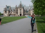Biltmore house is just 11 miles from Cloud 9 Farm